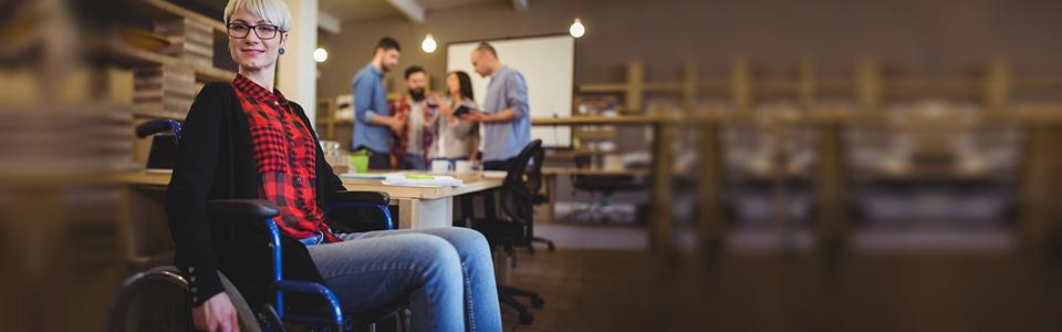 Leistungen für Arbeitnehmerinnen und Arbeitnehmer mit (Schwer-)Behinderung